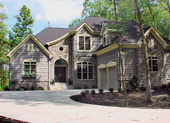 European House Plan Front of Home - 129D-0012 | House Plans and More