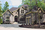 Rustic Home Plan Front of Home - 129D-0012 | House Plans and More