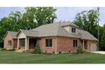 Ranch House Plan Rear Photo 01 - 129D-0017 | House Plans and More