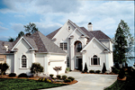 Traditional House Plan Front of Home - 129D-0018 | House Plans and More