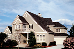 European House Plan Front of Home - 129D-0019 | House Plans and More