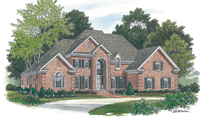 Traditional House Plan Front Image - 129D-0023 | House Plans and More