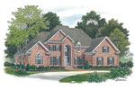 Southern House Plan Front Image - 129D-0023 | House Plans and More