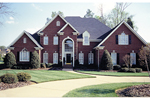 Southern House Plan Front of Home - 129D-0023 | House Plans and More