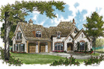 Arts & Crafts House Plan Front Image - 129S-0001 | House Plans and More