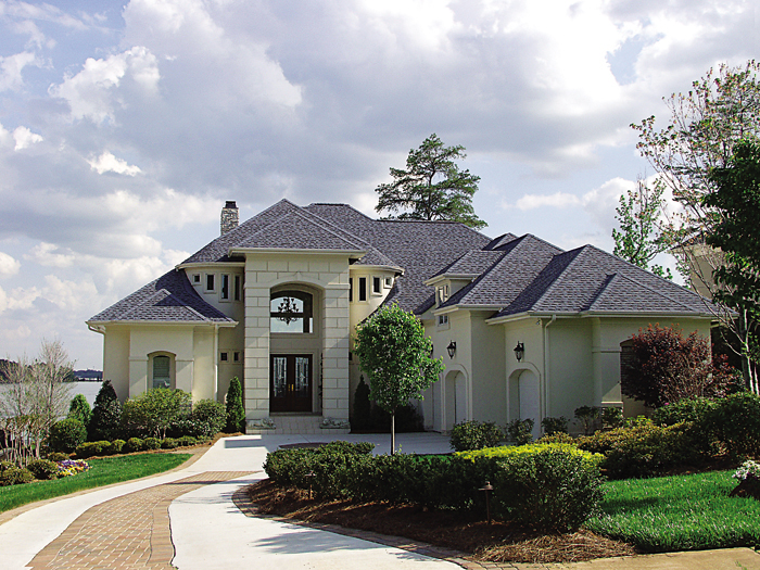 Luxury House Plan Front of Home 129S-0002