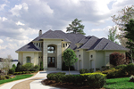Mediterranean House Plan Front of Home - 129S-0002 | House Plans and More