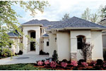 Luxury House Plan Front Photo 01 - 129S-0002 | House Plans and More