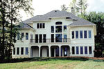 Luxury House Plan Rear Photo 01 - 129S-0002 | House Plans and More