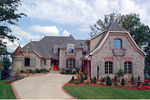 European House Plan Front of Home - 129S-0003 | House Plans and More