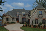 European House Plan Front Photo 02 - 129S-0003 | House Plans and More