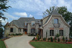 European House Plan Front Photo 07 - 129S-0003 | House Plans and More