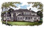 Traditional House Plan Color Image of House - 129S-0004 | House Plans and More