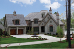 European House Plan Front of Home - 129S-0005 | House Plans and More