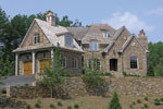 Luxury House Plan Front Photo 04 - 129S-0005 | House Plans and More