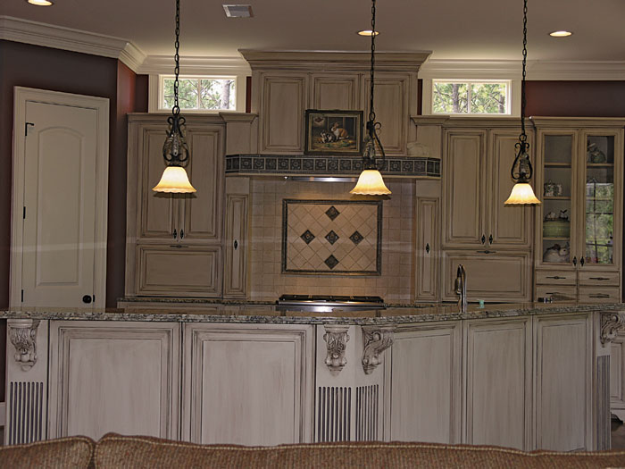 European House Plan Kitchen Photo 02 129S-0005