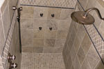 European House Plan Master Bathroom Photo 02 - 129S-0005 | House Plans and More