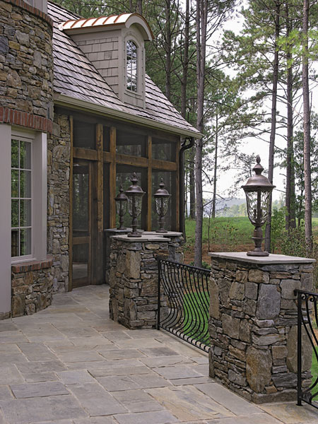 English Cottage House Plan Outdoor Living Photo 03 - 129S-0005 | House Plans and More