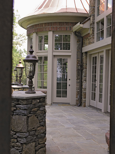 European House Plan Porch Photo 01 - 129S-0005 | House Plans and More