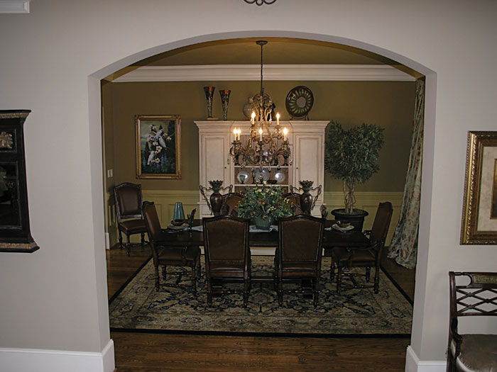 Luxury House Plan Dining Room Photo 01 129S-0006
