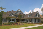 Craftsman House Plan Front of Home - 129S-0008 | House Plans and More