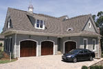 Luxury House Plan Garage Photo - 129S-0008 | House Plans and More