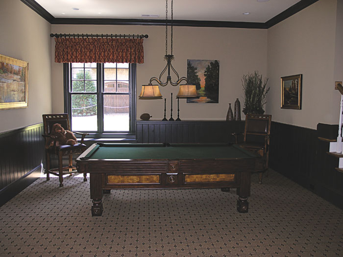 Luxury House Plan Recreation Room Photo 01 129S-0008