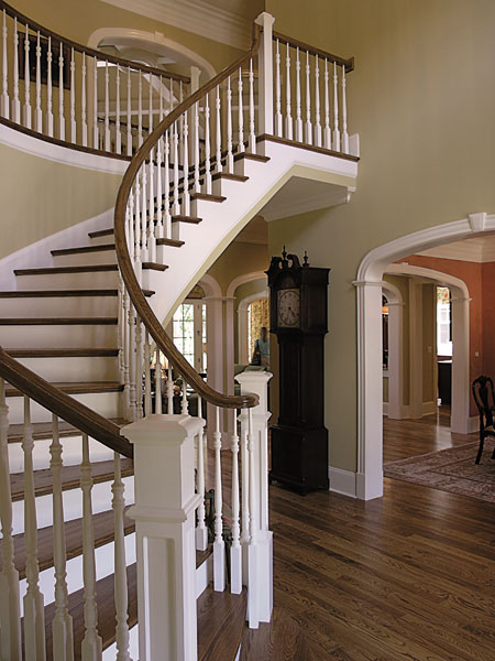 Arts and Crafts House Plan Stairs Photo 01 129S-0008