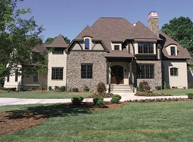 European House Plan Front of Home 129S-0010