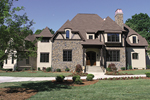 European House Plan Front of Home - 129S-0010 | House Plans and More