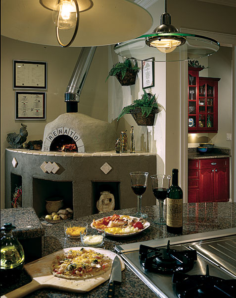 Mediterranean House Plan Kitchen Photo 01 - 129S-0011 | House Plans and More