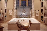 Mediterranean House Plan Master Bathroom Photo 01 - 129S-0011 | House Plans and More