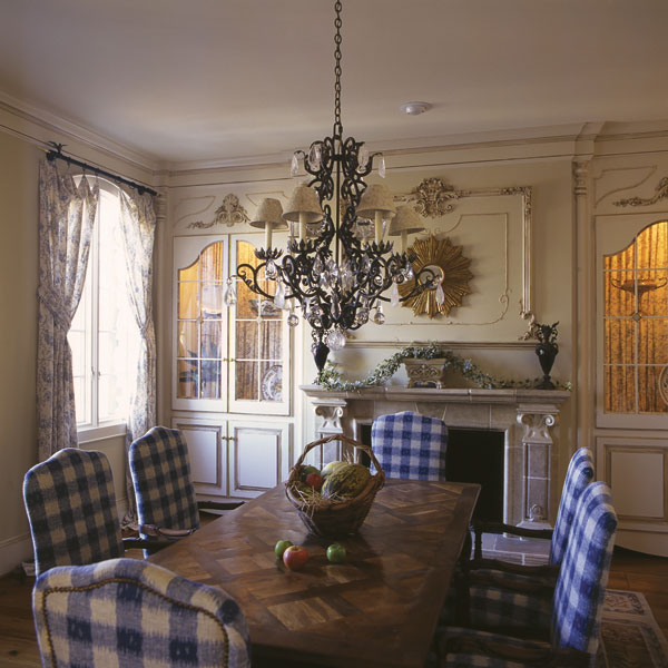 European House Plan Dining Room Photo 01 129S-0012