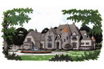 English Cottage Plan Front Image - 129S-0013 | House Plans and More