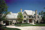 Luxury House Plan Front of Home - 129S-0014 | House Plans and More