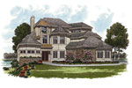 Craftsman House Plan Front Image - 129S-0015 | House Plans and More