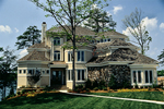 Luxury House Plan Front of Home - 129S-0015 | House Plans and More