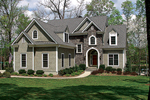 Cabin and Cottage Plan Front of Home - 129S-0017 | House Plans and More