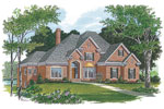 Southern House Plan Front Image - 129S-0016 | House Plans and More
