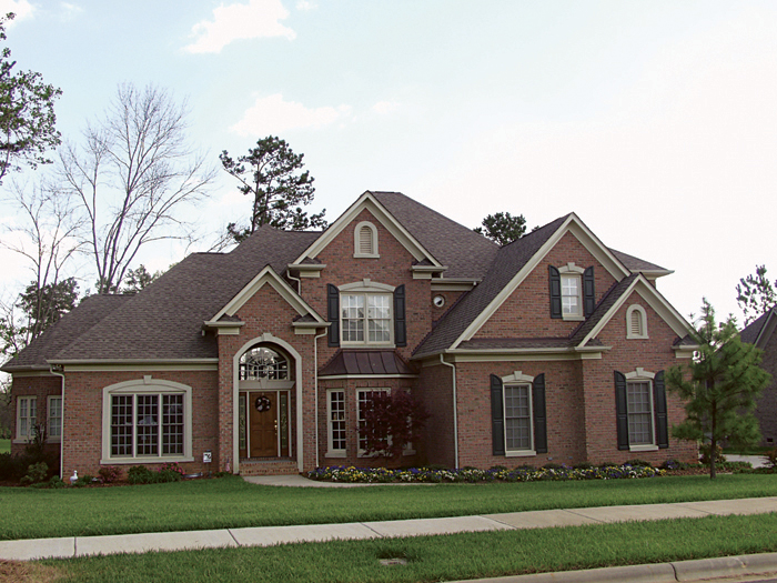 Luxury House Plan Front of Home 129S-0016