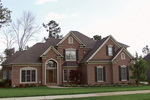 Luxury House Plan Front of Home - 129S-0016 | House Plans and More