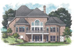 Luxury House Plan Color Image of House - 129S-0016 | House Plans and More