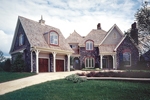 Early American House Plan Front of Home - 129S-0018 | House Plans and More
