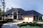 Colonial House Plan Front of Home - 129S-0019 | House Plans and More