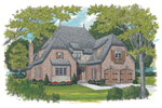 English Cottage House Plan Front Image - 129S-0021 | House Plans and More
