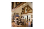 English Cottage House Plan Great Room Photo 02 - 129S-0021   House Plans and More