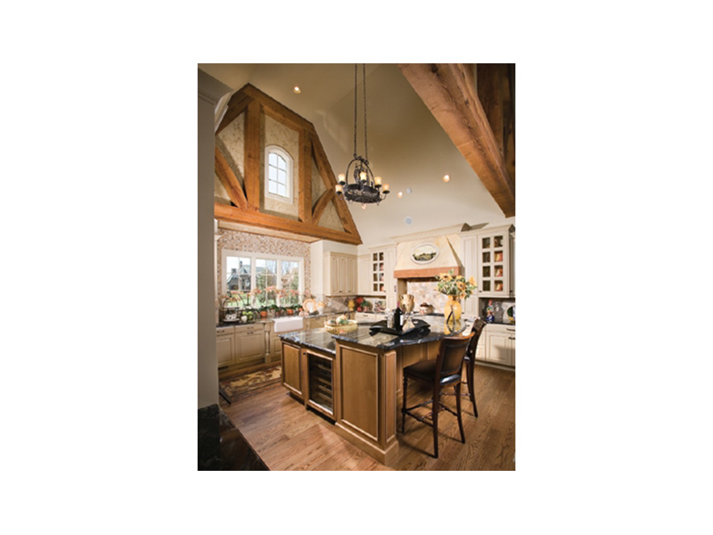 English Cottage House Plan Kitchen Photo 01 - 129S-0021   House Plans and More