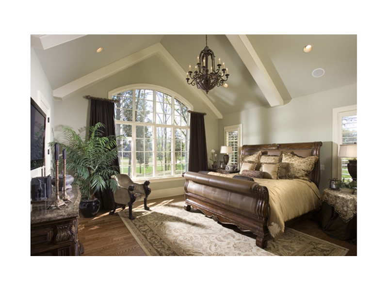 English Cottage House Plan Master Bedroom Photo 01 - 129S-0021   House Plans and More