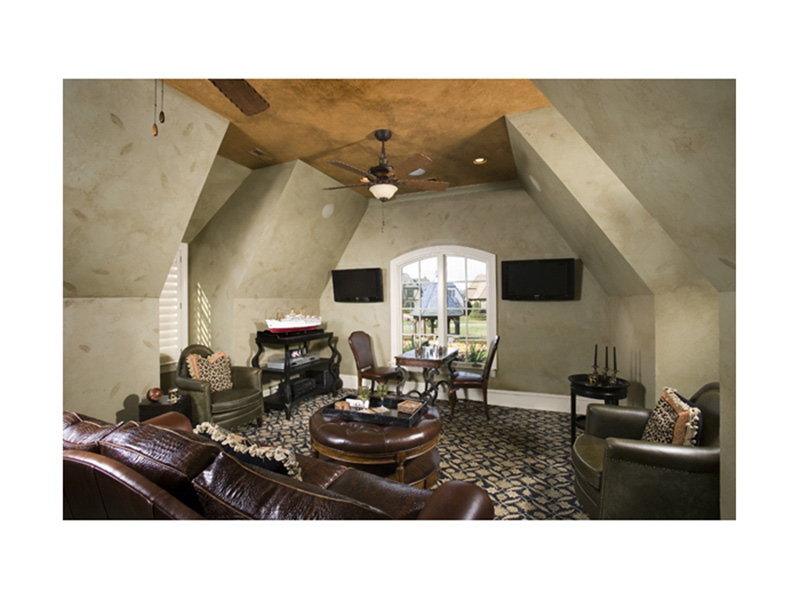 English Cottage House Plan Recreation Room Photo 01 - 129S-0021   House Plans and More