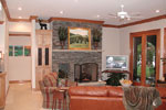 Ranch House Plan Family Room Photo 01 - 129S-0023 | House Plans and More